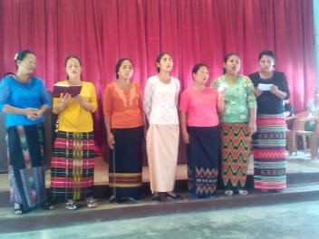 Zoitang Bpatist Women Choir